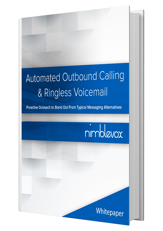 AUTOMATED OUTBOUND CALLING & RINGLESS VOICEMAIL